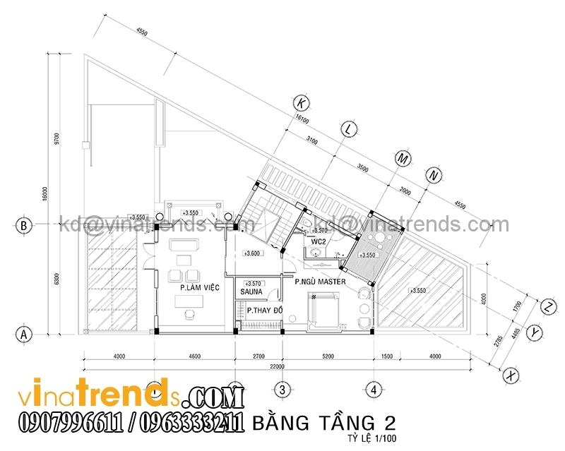 mat bang biet thu mat tien 7m 1 Mẫu thiết kế biệt thự đẹp 3 tầng 7m mặt tiền đẹp mê hồn anh Quảng Long Thành   BT030316A