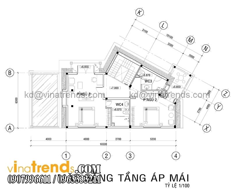mat bang biet thu mat tien 7m 2 Mẫu thiết kế biệt thự đẹp 3 tầng 7m mặt tiền đẹp mê hồn anh Quảng Long Thành   BT030316A