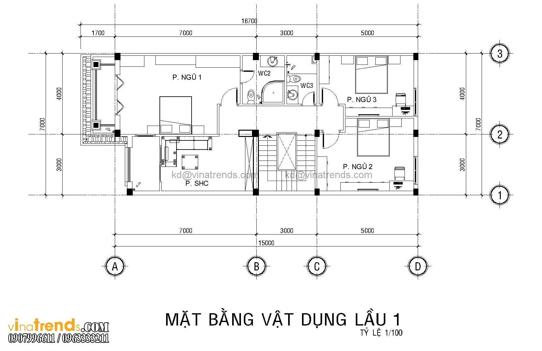 mb biet thu co dien dep 3 Mẫu nhà biệt thự 3 tầng cổ điển mái thái 7m dài 15m nhà anh Ẩn ở Hồ Chí Minh