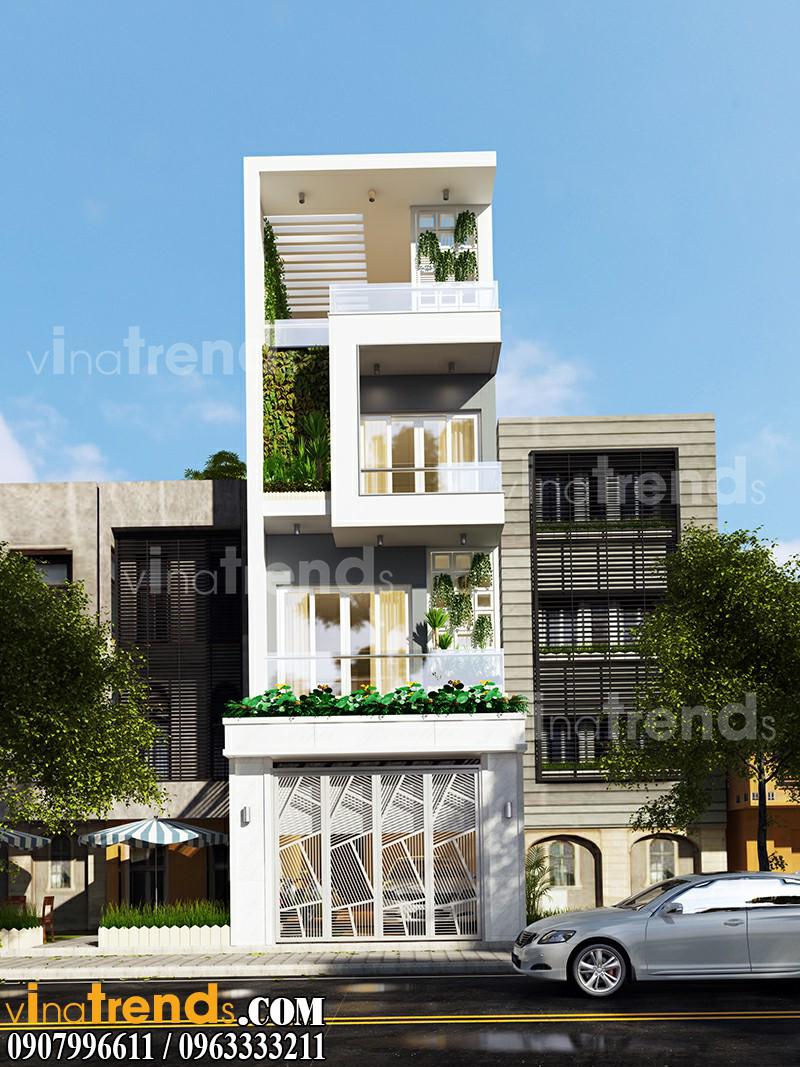 nha pho mat tien 5m 3 tang dep Mẫu nhà mặt phố đẹp 3 tầng 5x20m đẳng cấp Việt anh Phương Bình Chánh   NP040316A