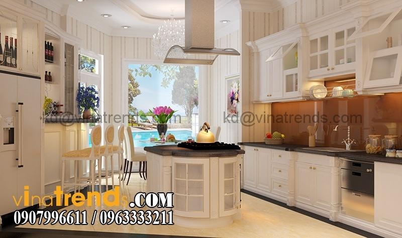 noi that biet thu 3 tang tan co dien dep 26 Mẫu thiết kế biệt thự đẹp 3 tầng 7m mặt tiền đẹp mê hồn anh Quảng Long Thành   BT030316A