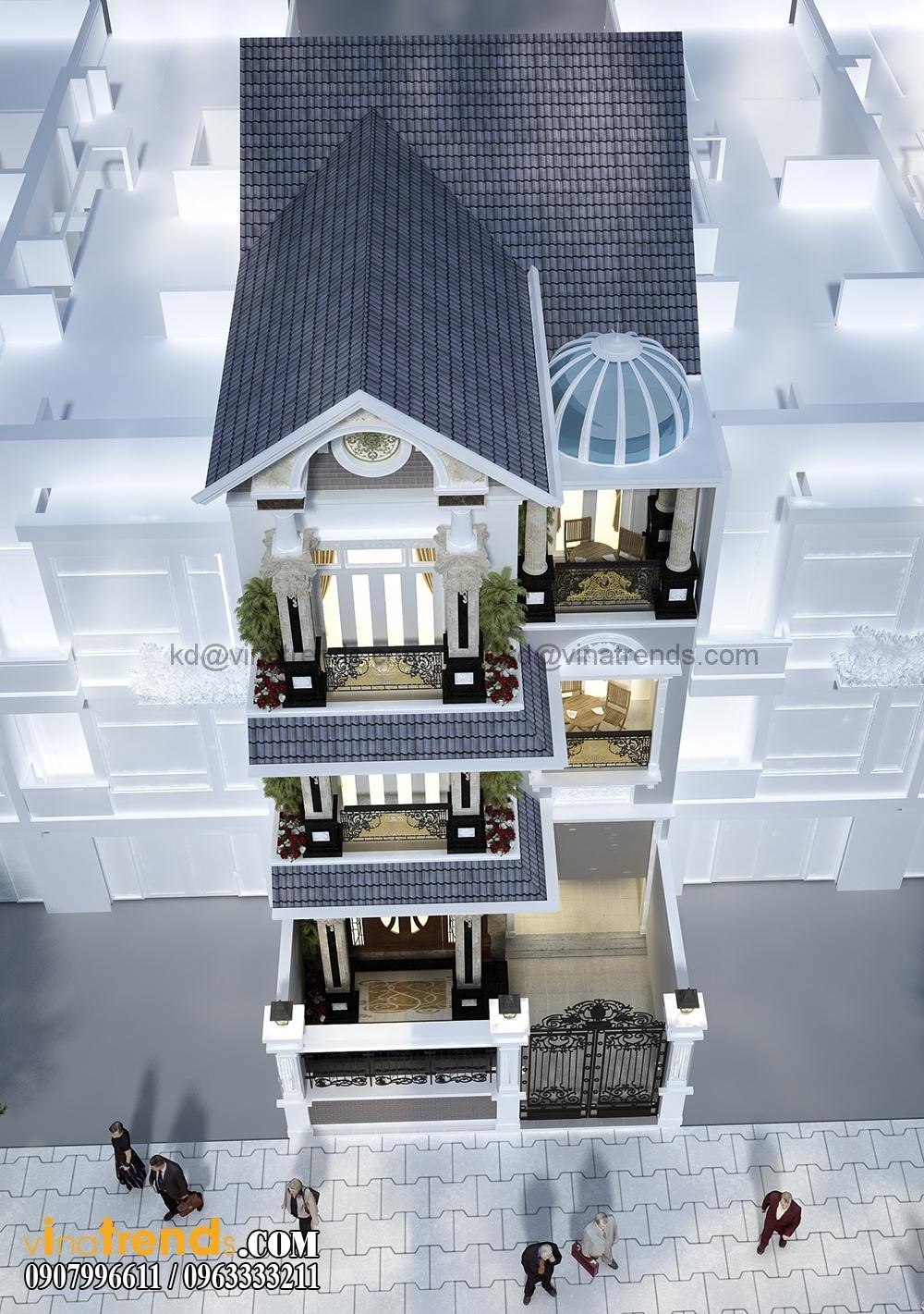 A 3 Mẫu biệt thự đẹp 3 tầng 7x15m tân cổ điển mặt tiền của TGĐ Ẩn   BT110516