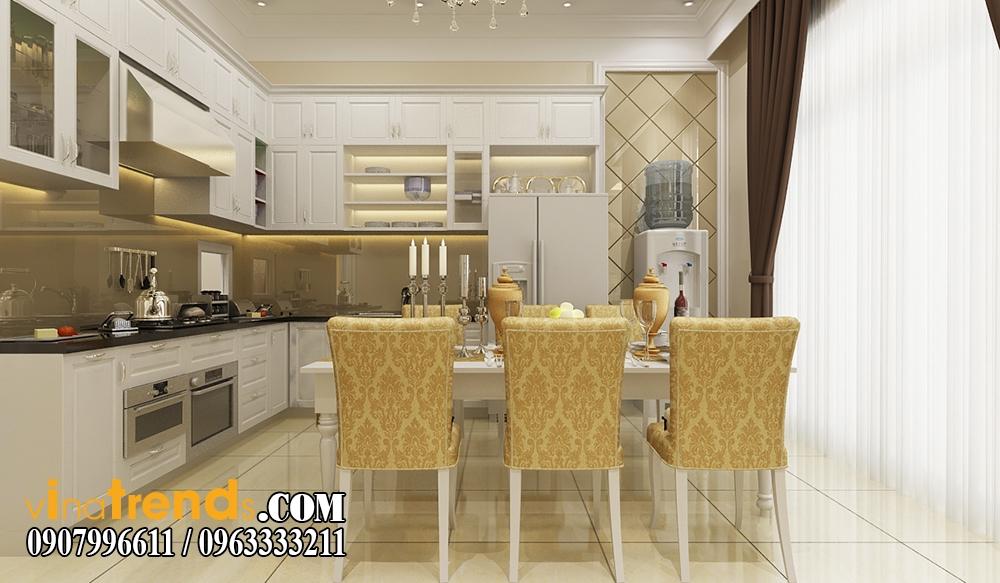 bep1 Trang trí nội thất gia đình nhà anh Cẩm ở Quận 7 kèm theo bản vẽ chi tiết