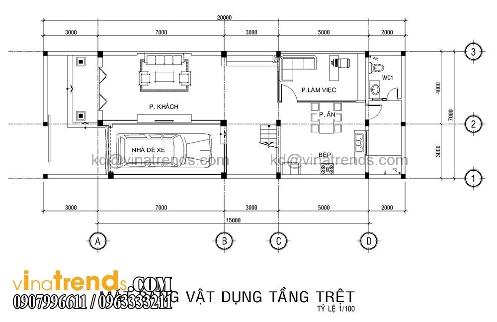mb 1 Mẫu biệt thự đẹp 3 tầng 7x15m tân cổ điển mặt tiền của TGĐ Ẩn   BT110516