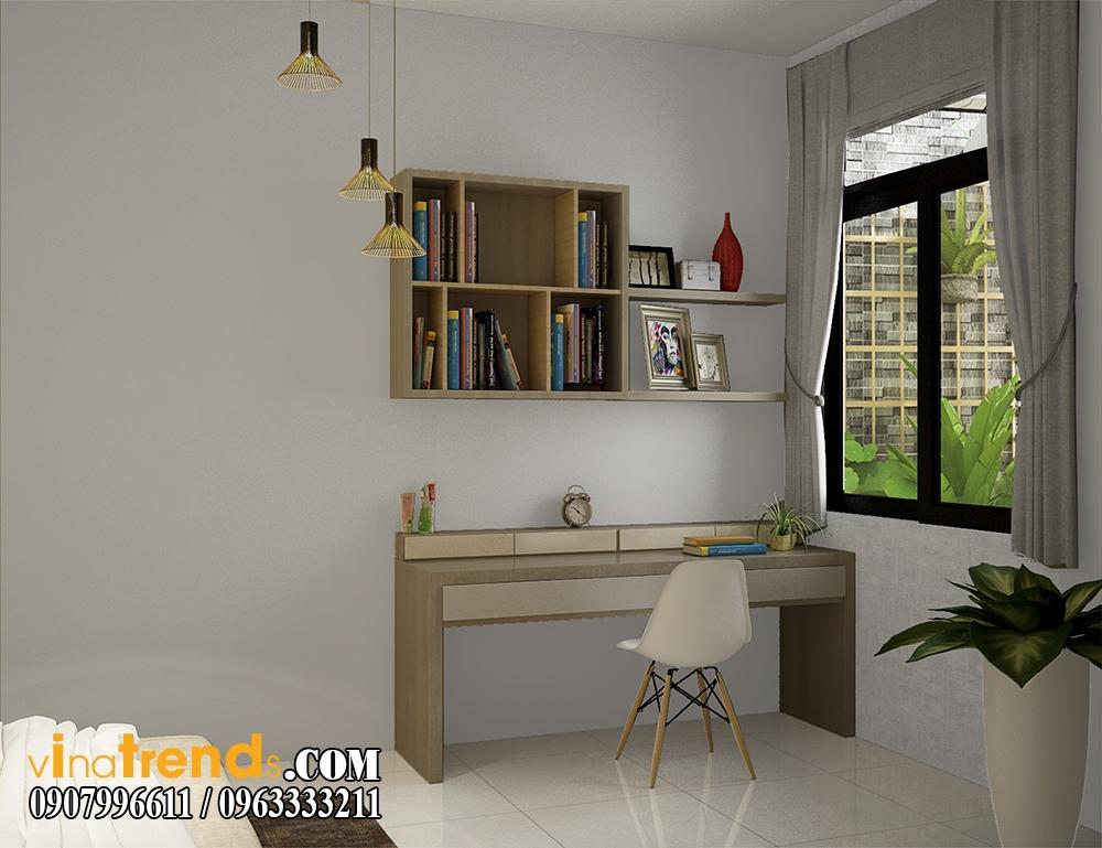 pc phong ngu 02 Chia sẻ mẫu nội thất biệt thự mini đẹp nhà Vinh ở Vĩnh Cữu