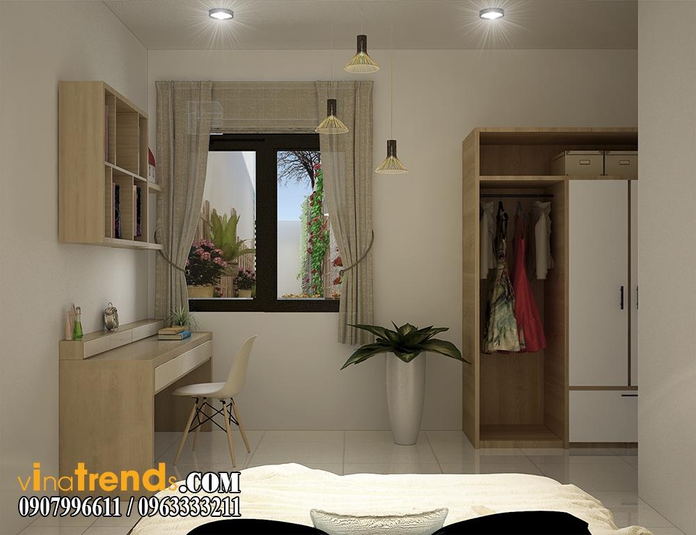pc phong ngu 04 Chia sẻ mẫu nội thất biệt thự mini đẹp nhà Vinh ở Vĩnh Cữu