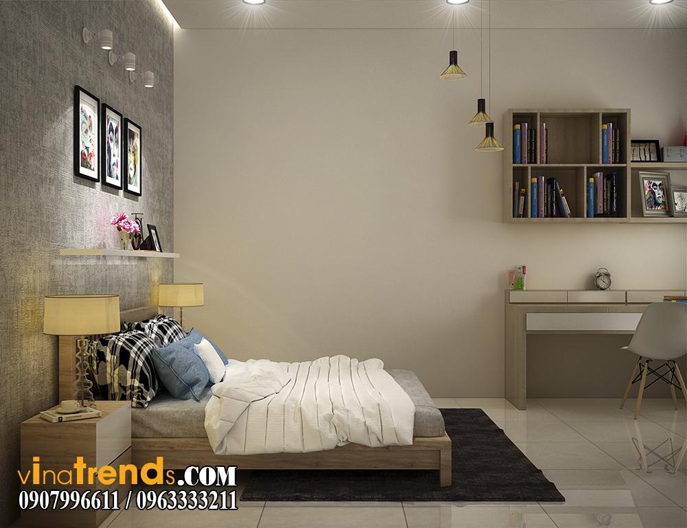 pc phong ngu 06 Chia sẻ mẫu nội thất biệt thự mini đẹp nhà Vinh ở Vĩnh Cữu