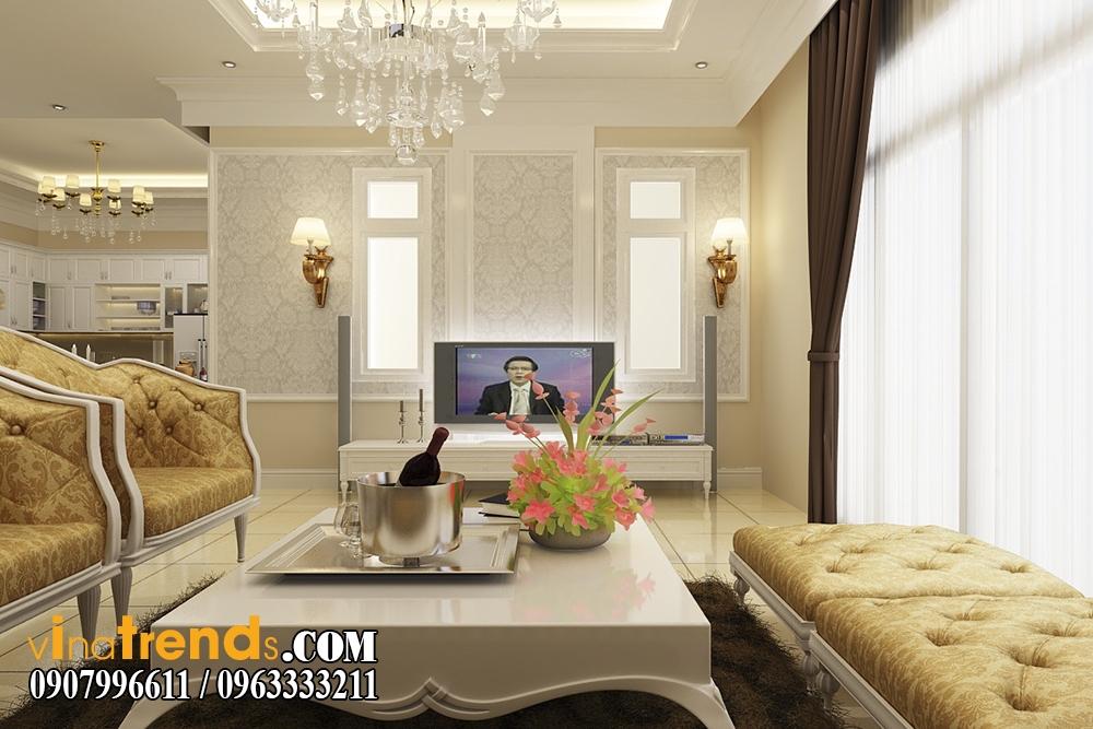pk3 Trang trí nội thất gia đình nhà anh Cẩm ở Quận 7 kèm theo bản vẽ chi tiết