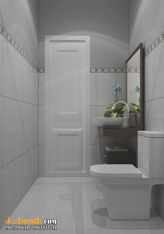 toilet0101 Chia sẻ mẫu nội thất biệt thự mini đẹp nhà Vinh ở Vĩnh Cữu