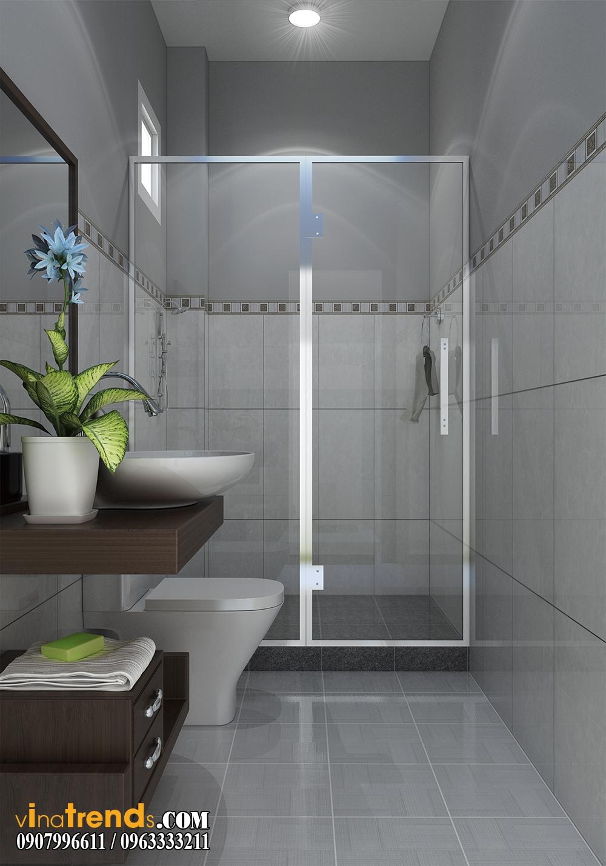 toilet0102 Chia sẻ mẫu nội thất biệt thự mini đẹp nhà Vinh ở Vĩnh Cữu