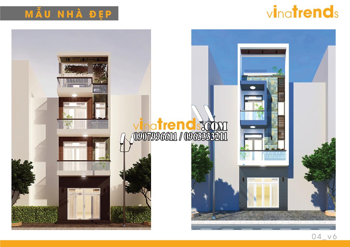 mau nha pho dep 4m vinatrends 6 14 mẫu thiết kế nhà phố đẹp 4m lựa chọn nhiều nhất năm nay