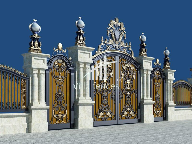mau cong sat my thuat dep 14 bộ sưu tập mẫu cổng sắt mỹ thuật đẹp lung linh