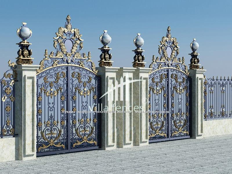 mau cong sat my thuat dep 17 bộ sưu tập mẫu cổng sắt mỹ thuật đẹp lung linh