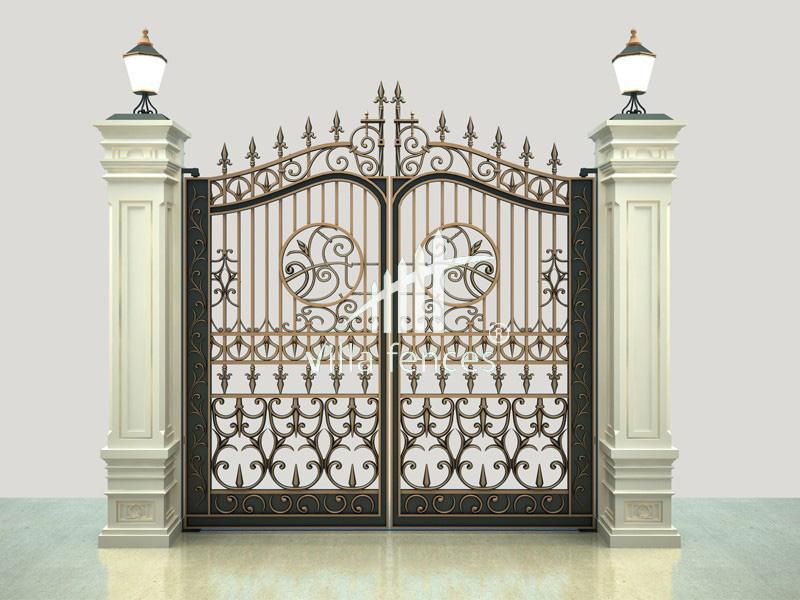 mau cong sat my thuat dep 5 bộ sưu tập mẫu cổng sắt mỹ thuật đẹp lung linh