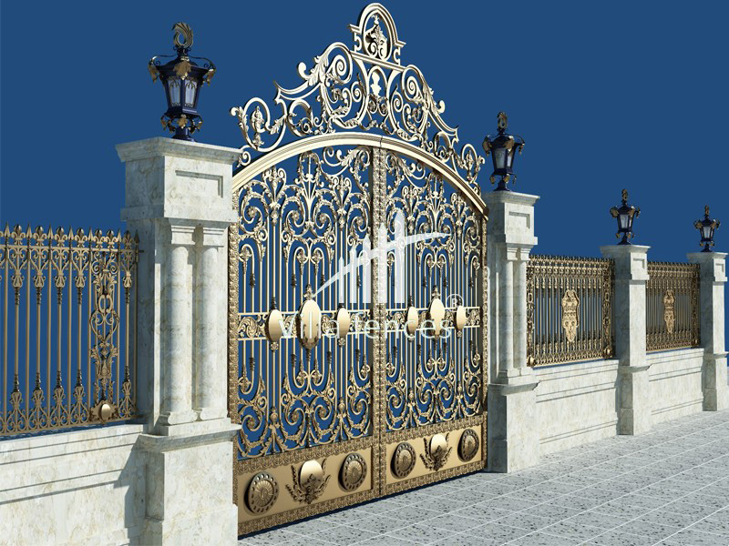 mau cong sat my thuat dep 8 bộ sưu tập mẫu cổng sắt mỹ thuật đẹp lung linh