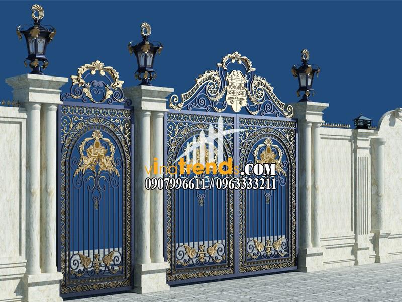 mau cong sat my thuat dep 9 bộ sưu tập mẫu cổng sắt mỹ thuật đẹp lung linh