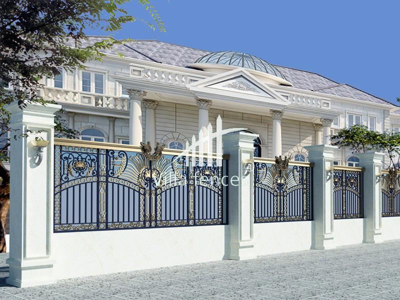 mau hang rao dep 3 +100 mẫu cửa sắt đẹp, hàng rào sắt đẹp, cổng sắt đẹp 2018