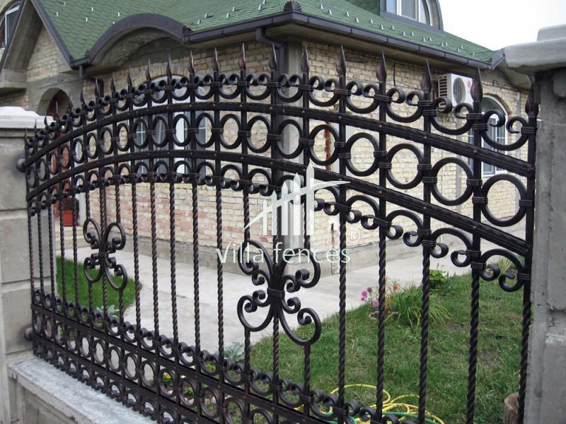 mau hang rao dep 6 Bộ sưu tập mẫu hàng rào sắt đẹp