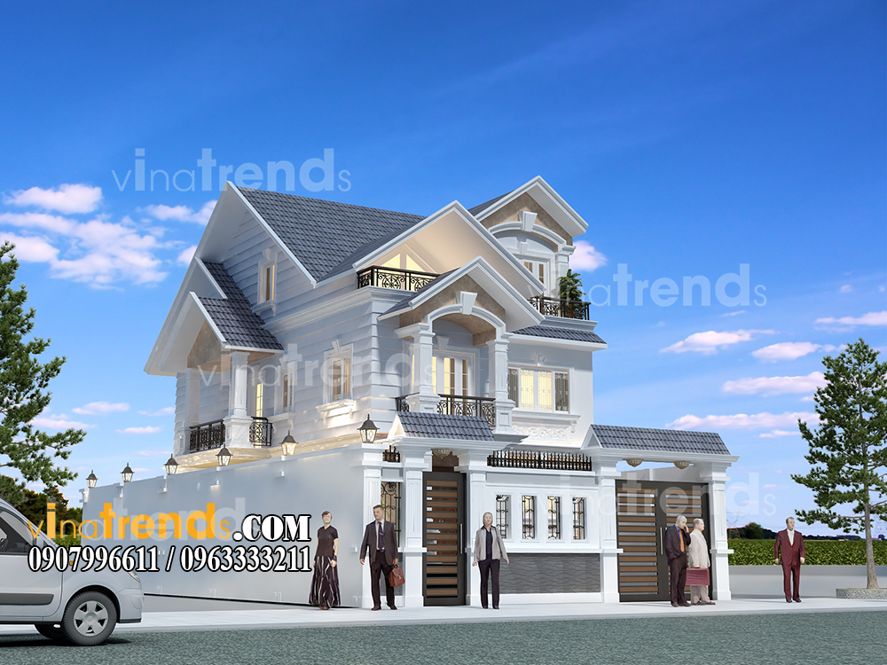 mau biet thu 3 tang dep hien dai mat tien 10x20m anh Tu An Khanh Quan 2 1 12 bản thiết kế mẫu biệt thự hiện đại 2 3 4 tầng tặng độc giả thiết kế thi công năm 2017