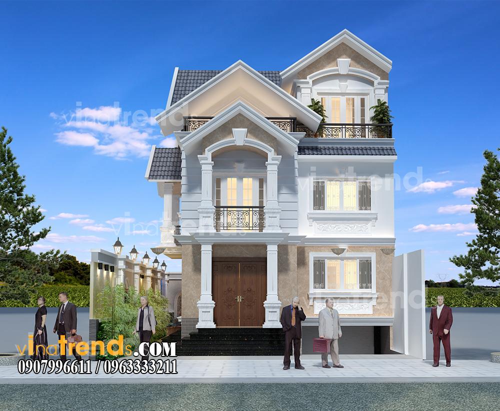 mau biet thu 3 tang dep hien dai mat tien 10x20m anh Tu An Khanh Quan 2 12 bản thiết kế mẫu biệt thự hiện đại 2 3 4 tầng tặng độc giả thiết kế thi công năm 2017