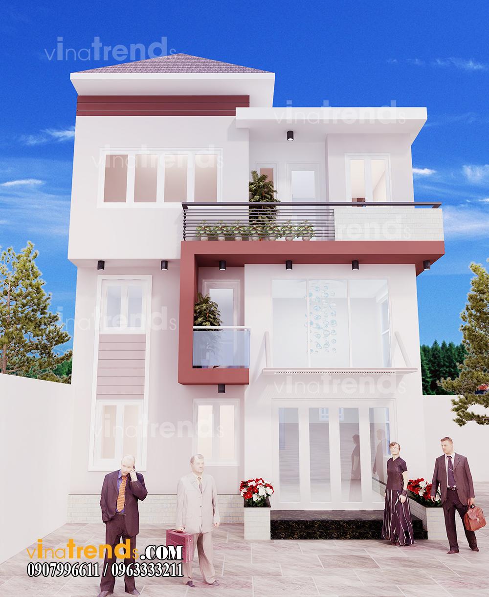 mau biet thu dep mat tien 6x18m nha anh Dat vinatrends 1 12 bản thiết kế mẫu biệt thự hiện đại 2 3 4 tầng tặng độc giả thiết kế thi công năm 2017