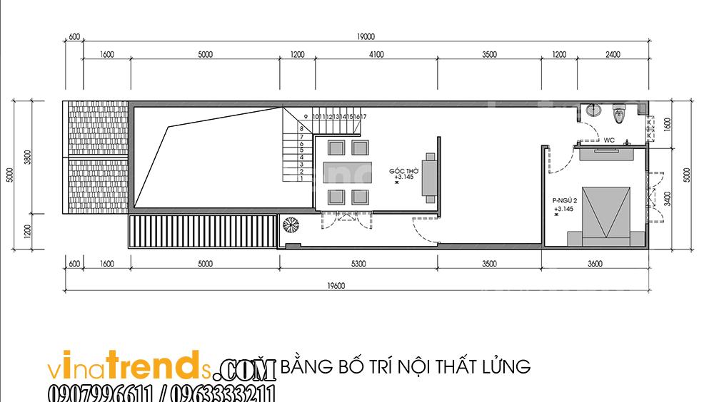 4 Đừng ngạc nhiên mẫu nhà đẹp 2 tầng mái thái 5x20m như biệt thự của anh Lộc Trảng Dài