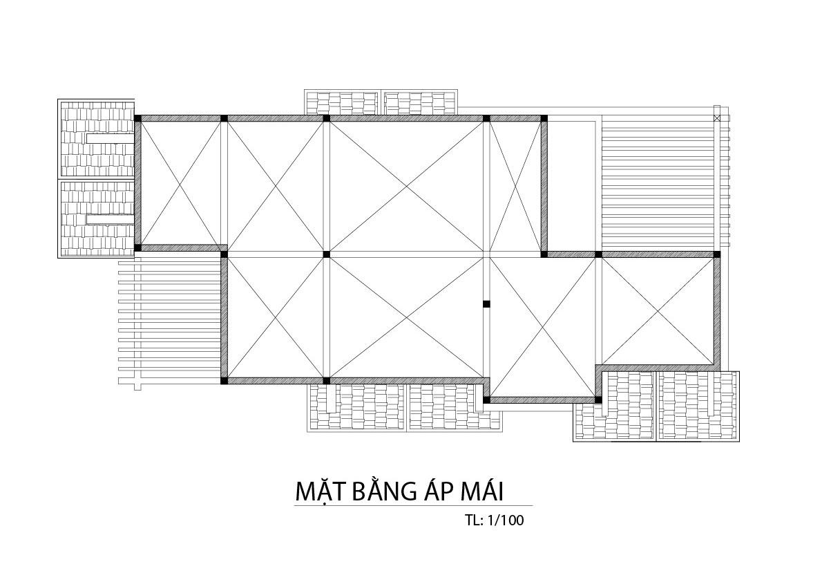 biet thu 3 tang mat bang tang mai Mẫu biệt thự đẹp 3 tầng 9x20m có sân vườn lấy lòng chủ nhà ở Bình Dương như thế nào?