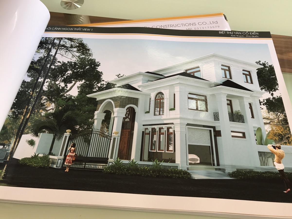 IMG 1647 Biệt thự đẹp 3 tầng 161m2 xứng danh một thiết kế đẳng cấp   cả trăm năm hưởng thụ
