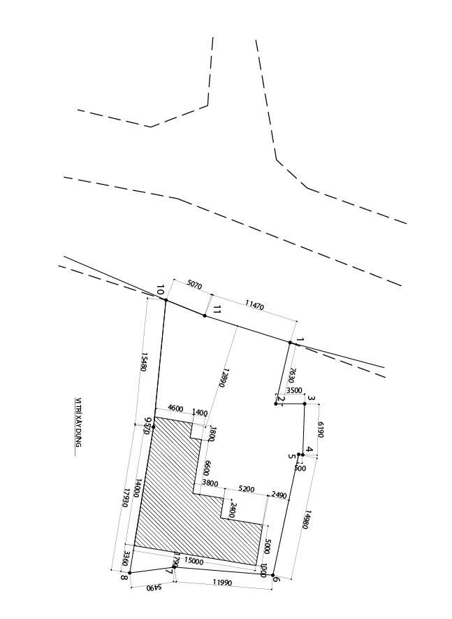 hoa do vi tri mat bang nha chu l 2 tang dep Mẫu nhà chữ L 2 tầng mái thái 270m2 chuẩn cung Phước Đức nhà chị Hạnh ở Bình Phước