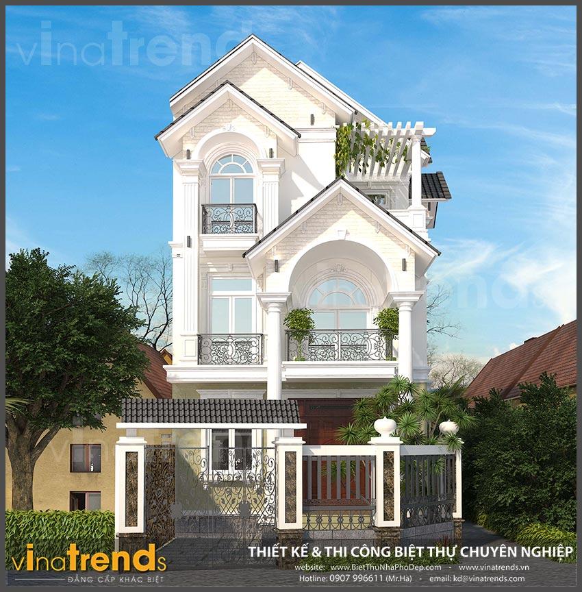 mat bang biet thu 3 tang mai thai co dien 6 20+ mẫu nhà đẹp mái thái 1 2 3 tầng xiêu lòng chủ nhà đẳng cấp