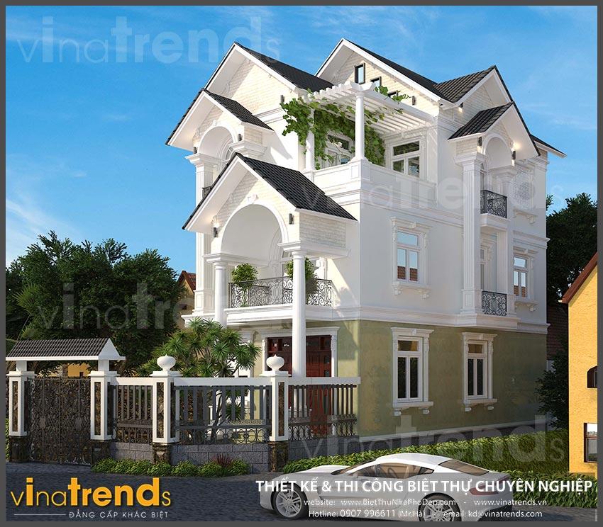 mat bang biet thu 3 tang mai thai co dien 7 20+ mẫu nhà đẹp mái thái 1 2 3 tầng xiêu lòng chủ nhà đẳng cấp
