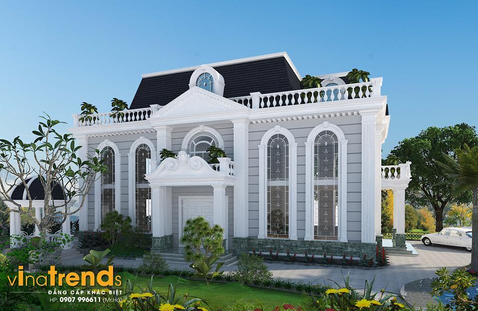 mau biet thu co dien 12 mẫu nhà biệt thự đẹp 1 2 3 tầng nếu bạn muốn xây đẹp nên xem nhiều lần