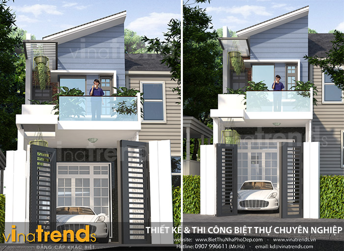 mau nha bi Mẫu nhà 2 tầng ở Biên Hòa  > 1 tỷ đầy đủ tiện nghi bao người muốn xây