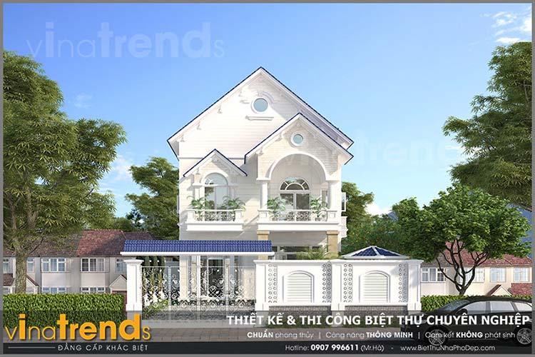 mau nha biet thu 2 tang tan co dien nha co bang vung tau 1 12 mẫu nhà biệt thự đẹp 1 2 3 tầng nếu bạn muốn xây đẹp nên xem nhiều lần