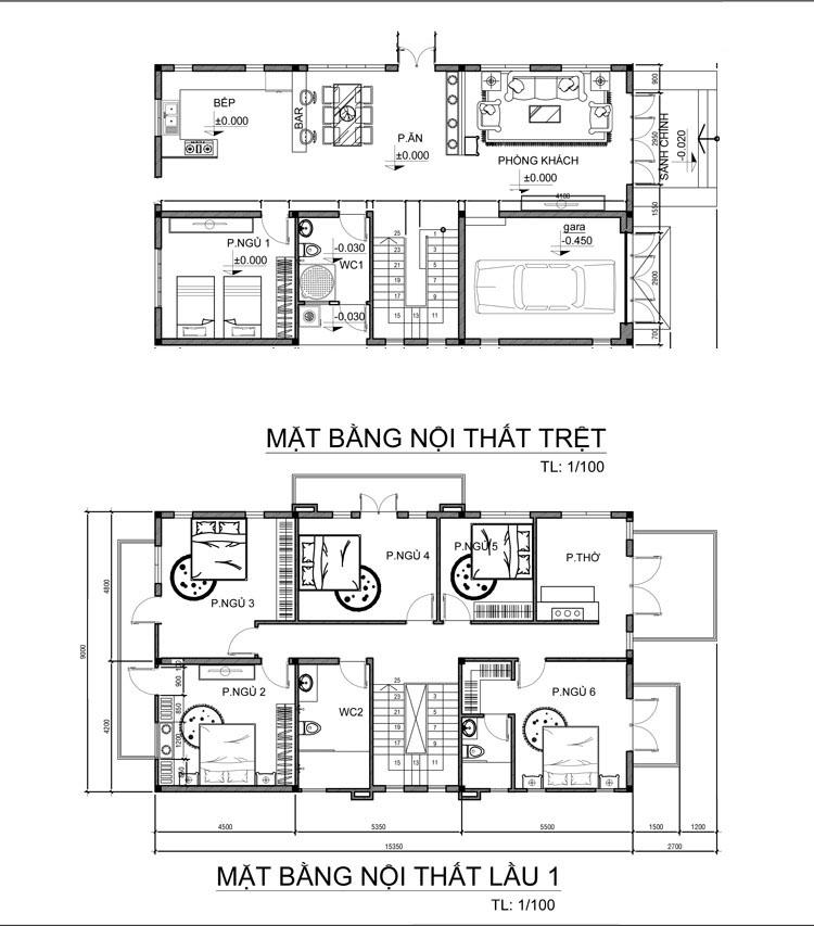 MB TRET Mẫu biệt thự 2 tầng mái ngói thái 128m2 đáng ngưỡng mộ: Đầu tư vừa phải   hưởng thụ tối đa