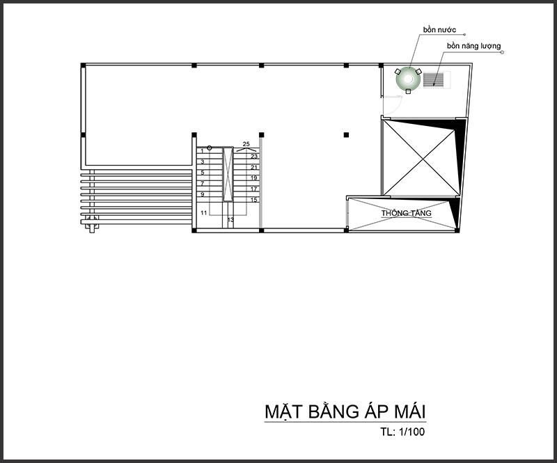 anhghel mbapmai Mẫu biệt thự 4 tầng mái thái 7,5x12m tân cổ điển của đại gia miền Tây tận dụng tầng áp mái nuôi yến