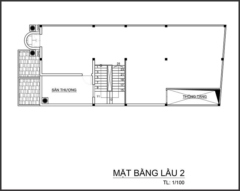 anhghel mblau2 Mẫu biệt thự 4 tầng mái thái 7,5x12m tân cổ điển của đại gia miền Tây tận dụng tầng áp mái nuôi yến