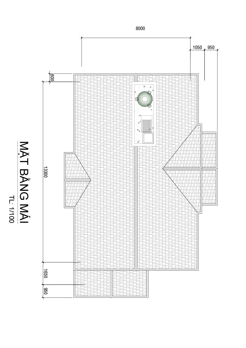 mat bang biet thu dep o bien hoa tang mai Biệt thự 2 tầng mái thái ngói 8x17m gói chìa khóa trao tay 1,6 tỷ ở Phước Tân Biên Hòa