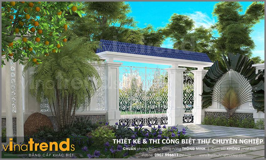 mau biet thu 2 tang mini san vuon co cong ngo dep 20+ mẫu nhà đẹp mái thái 1 2 3 tầng xiêu lòng chủ nhà đẳng cấp