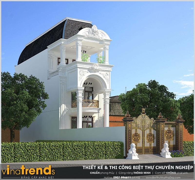 mau nha 3 tang tan co dien dep o bien hoa 12 mẫu nhà biệt thự đẹp 1 2 3 4 tầng ở Biên Hòa sẽ thi công năm 2018 – 2019