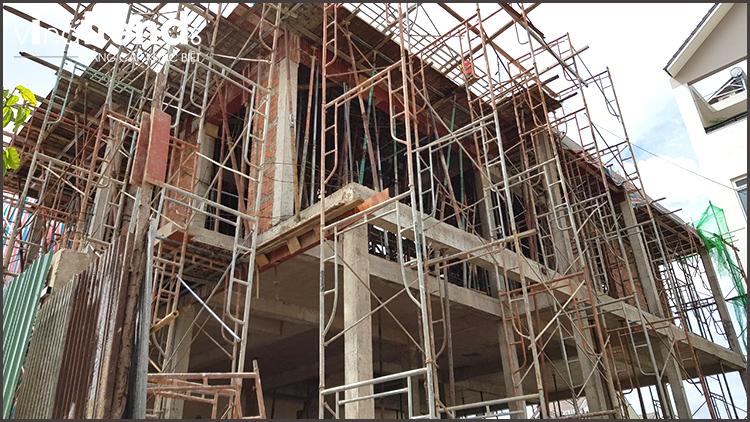 xay dung phan tho biet thu 2 tang o bien hoa thiết kế xây nhà đẹp biên hòa   đồng nai chuẩn thi công sát dự toán tại Vinatrends