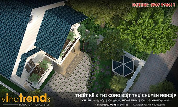 Biet thu dep 2 tang nha co Bang Vung Tau TOP 1 những mẫu biệt thự mái thái NỔI TIẾNG nhất Việt Nam