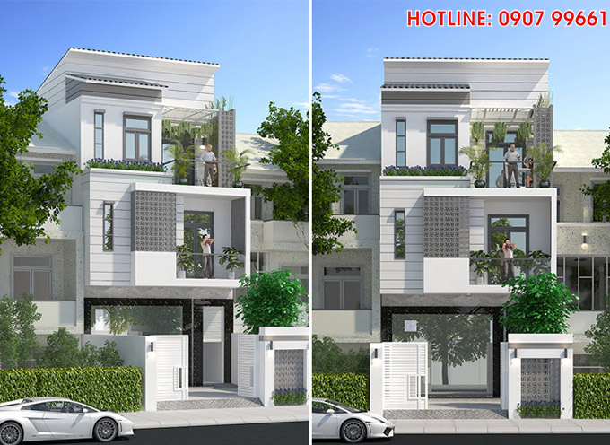 mau nha 3 tang dep nhat hien nay cua chi Nhung TOP 1 những mẫu biệt thự mái thái NỔI TIẾNG nhất Việt Nam