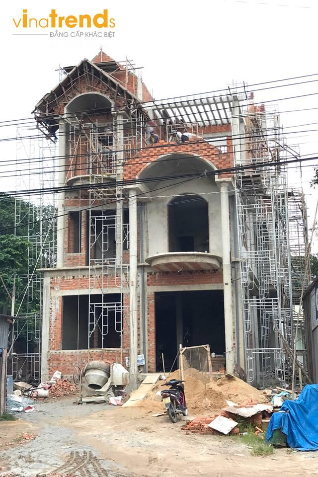 thi cong biet thu dep o binh duong Thiết kế xây nhà đẹp Biên Hòa   Cam kết KHÔNG phát sinh chi phí chạm đến trái tim khách hàng