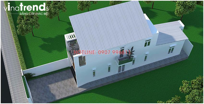 mau nha 2 tang dep vinatrends thiet ke 1 Mẫu nhà 2 tầng ở Biên Hòa  > 1 tỷ đầy đủ tiện nghi bao người muốn xây
