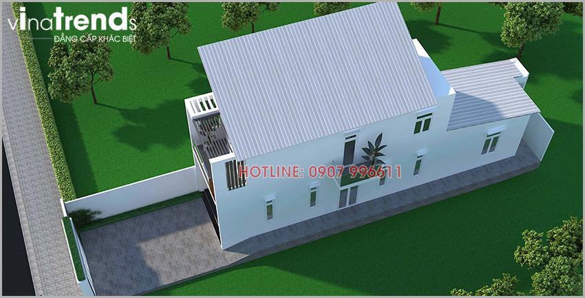mau nha 2 tang don gian o bien hoa Mẫu nhà 2 tầng ở Biên Hòa  > 1 tỷ đầy đủ tiện nghi bao người muốn xây
