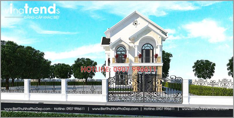 biet thu 2 tang mai thai 8x15m o binh thuan Mẫu biệt thự 2 tầng mái thái 150m2 ĐỨC HOUSE ở Bình Thuận gây Thương Nhớ 5 thành viên