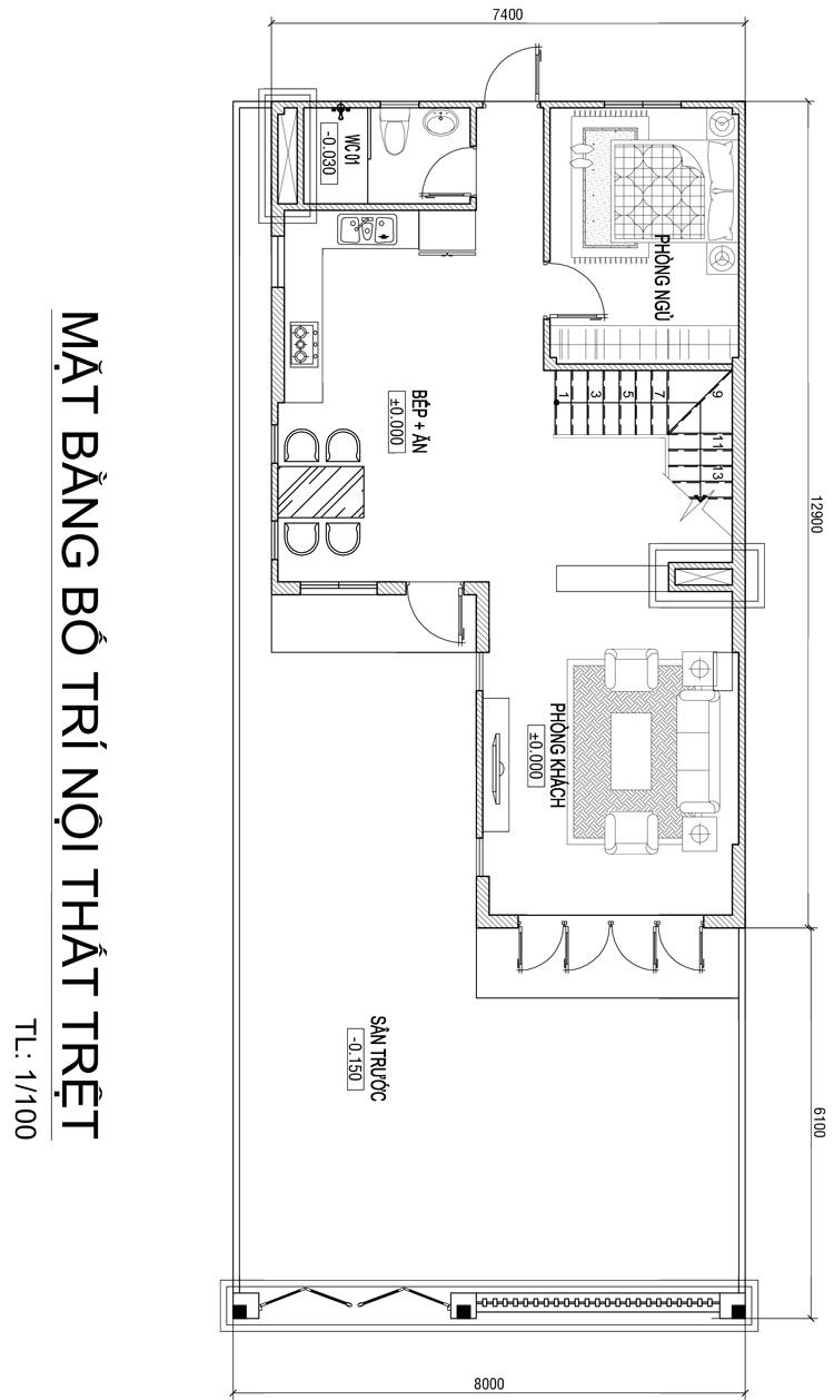 mb biet thu 3 tang 104m2 tang tret Mẫu nhà đẹp 3 tầng chữ L 104m2 hiện đại Đơn Giản Ngoài   Ấn Tượng Trong ở Biên Hòa