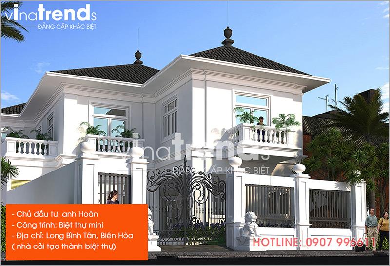 mau nha dep nhat o bien hoa do vinatrends thiet ke thi cong 10 1 Hơn 12 mẫu nhà biệt thự 1 2 3 4 tầng ở Biên Hòa dự kiến hoàn thiện năm 2019