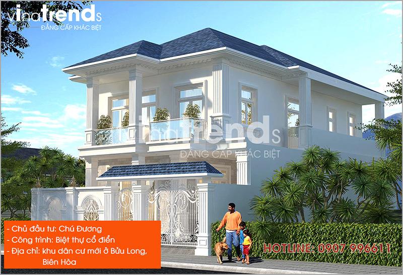 mau nha dep nhat o bien hoa do vinatrends thiet ke thi cong 13 1 Hơn 12 mẫu nhà biệt thự 1 2 3 4 tầng ở Biên Hòa dự kiến hoàn thiện năm 2019